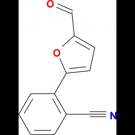2-(5-Formyl-furan-2-yl)-benzonitrile
