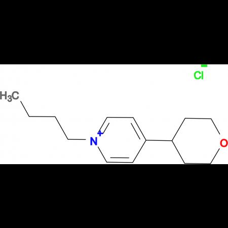 1-Butyl-4-(tetrahydro-pyran-4-yl)-pyridinium;chloride