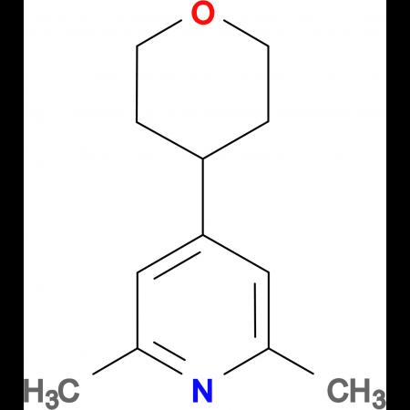 2,6-Dimethyl-4-(tetrahydro-pyran-4-yl)-pyridine