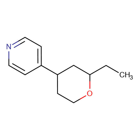 4-(2-Ethyltetrahydro-2H-pyran-4-yl)pyridine