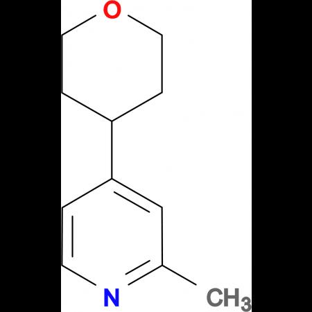2-Methyl-4-(tetrahydro-pyran-4-yl)-pyridine