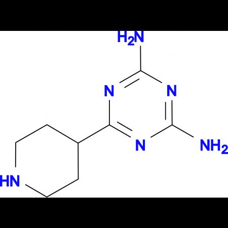 6-Piperidin-4-yl-[1,3,5]triazine-2,4-diamine