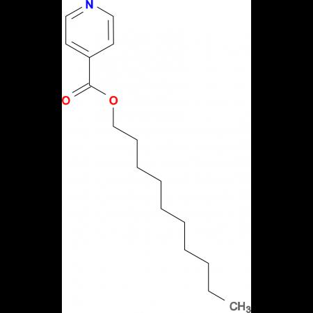Isonicotinic acid decyl ester