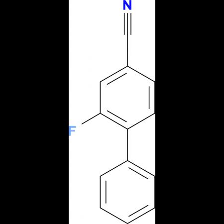 4-Cyano-2-fluoro-biphenyl