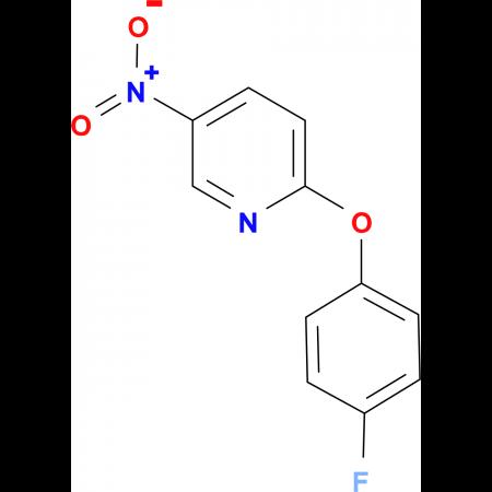 2-(4-Fluoro-phenoxy)-5-nitro-pyridine