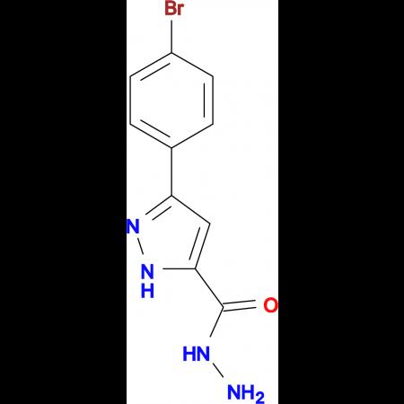 3-(4-Bromophenyl)-1H-pyrazole-5-carboxylic acidhydrazide
