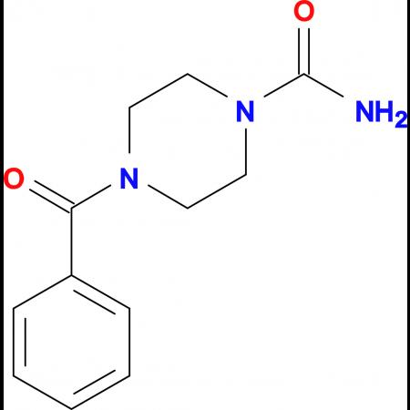 4-Benzoyl-piperazine-1-carboxylic acid amide