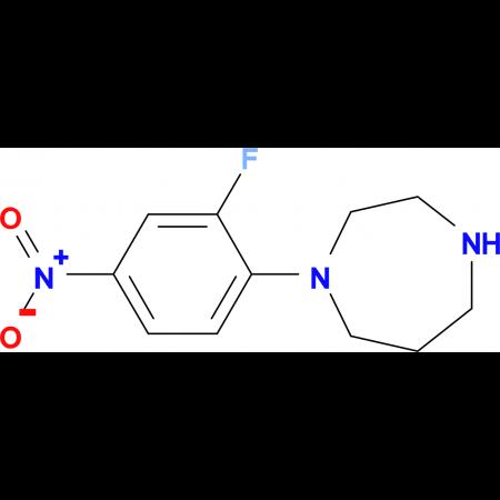1-(2-Fluoro-4-nitrophenyl)homopiperazine