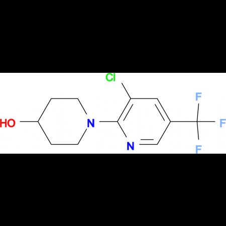 1-[3-Chloro-5-(trifluoromethyl)pyridin-2-yl]-piperidine-4-ol