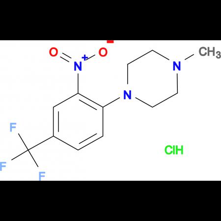 1-Methyl-4-[2-nitro-4-(trifluoromethyl)phenyl]piperazine hydrochloride