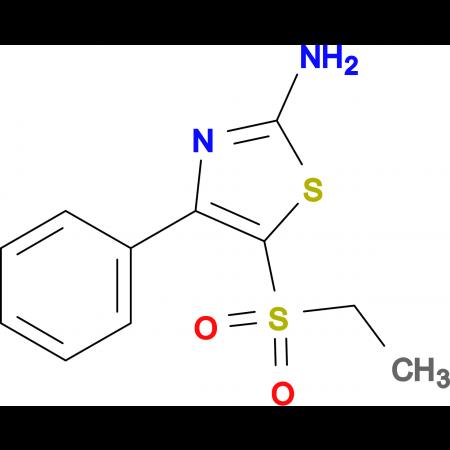 2-Amino-5-ethylsulfonyl-4-phenyl-1,3-thiazole