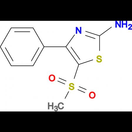 2-Amino-5-methylsulfonyl-4-phenyl-1,3-thiazole