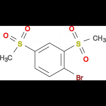 2,4-Bis(methylsulfonyl)-1-bromobenzene