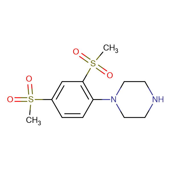 1-[2,4-Bis(methylsulfonyl)phenyl]piperazine