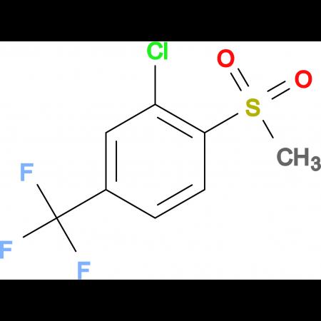 3-Chloro-4-methylsulfonylbenzotrifluoride