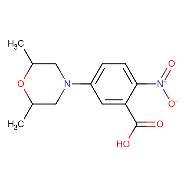 5-(2,6-Dimethylmorpholin-4-yl)-2-nitrobenzoic acid