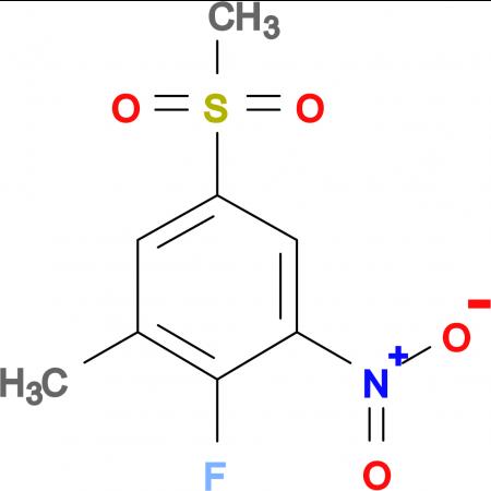 2-Fluoro-5-methylsulfonyl-3-nitrotoluene