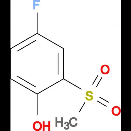 4-Fluoro-2-methylsulfonylphenol