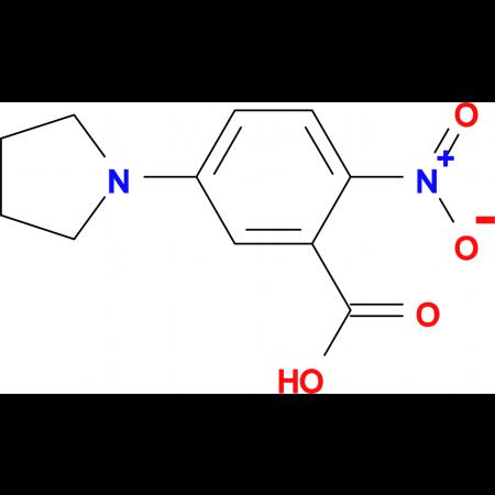 2-Nitro-5-(pyrrolidin-1-yl)benzoic acid
