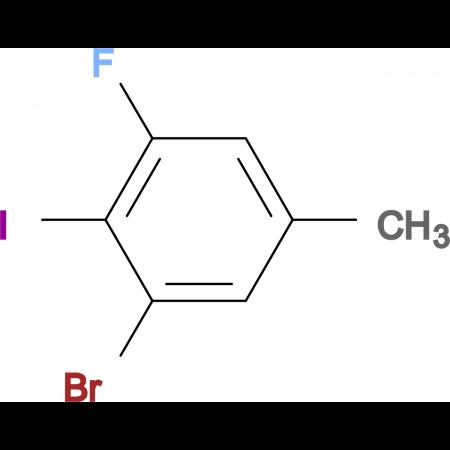 3-Bromo-5-fluoro-4-iodotoluene