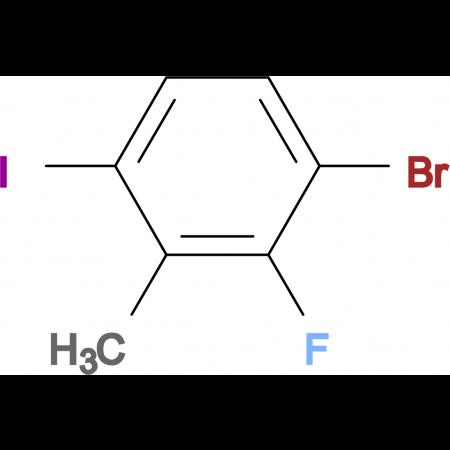 3-Bromo-2-fluoro-6-iodotoluene