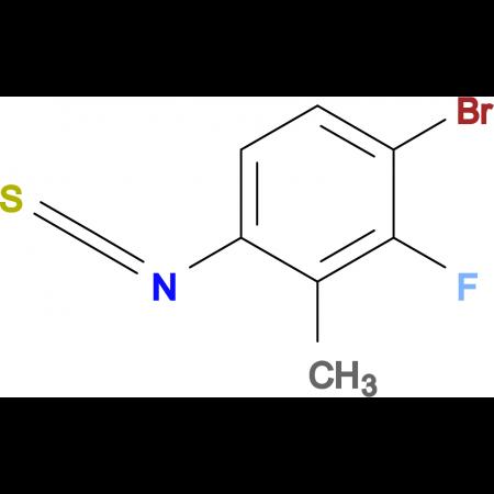 4-Bromo-3-fluoro-2-methylphenylisothiocyanate