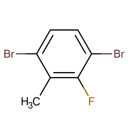 2,5-Dibromo-6-fluorotoluene