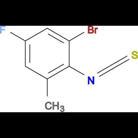 2-Bromo-4-fluoro-6-methylphenylisothiocyanate