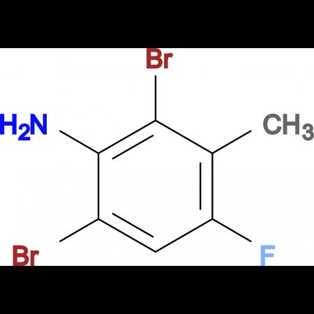 2,6-Dibromo-4-fluoro-3-methylaniline