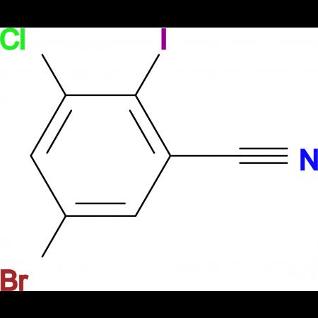 5-Bromo-3-chloro-2-iodobenzonitrile