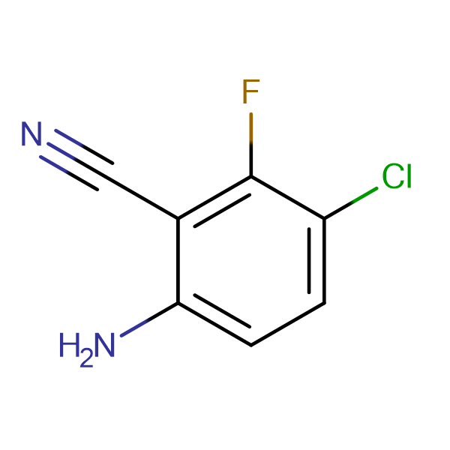 2-Amino-5-chloro-6-fluorobenzonitrile
