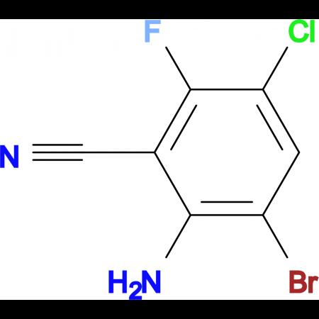 2-Amino-3-bromo-5-chloro-6-fluorobenzonitrile