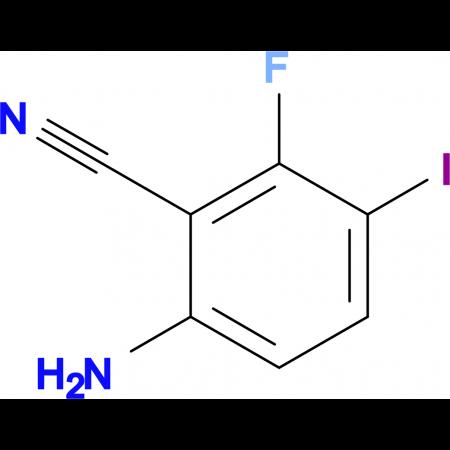 6-Amino-2-fluoro-3-iodobenzonitrile
