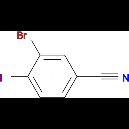 3-Bromo-4-iodobenzonitrile