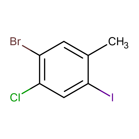 5-Bromo-4-chloro-2-iodotoluene