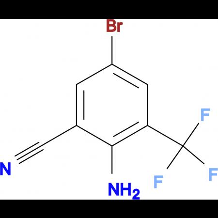 2-Amino-5-bromo-3-(trifluoromethyl)benzonitrile
