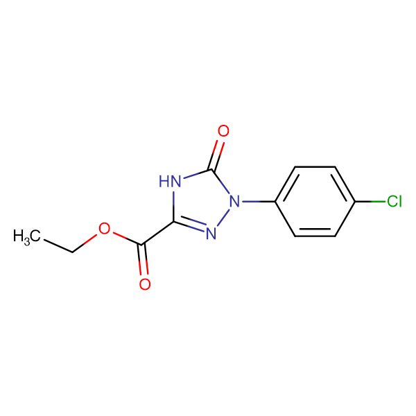Ethyl 1-(4-chlorophenyl)-2,5-dihydro-5-oxo-1H-1,2,4-triazole-3-carboxylate