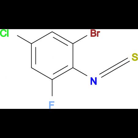2-Bromo-4-chloro-6-fluorophenylisothiocyanate