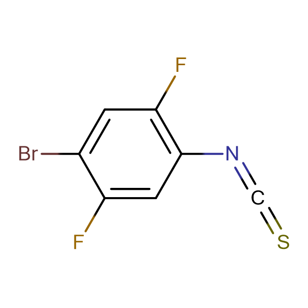 4-Bromo-2,5-difluorophenyl isothiocyanate