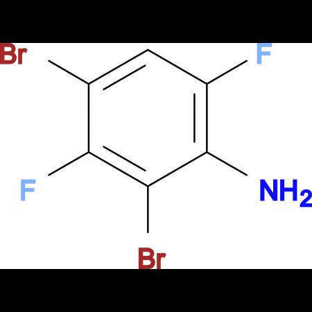 2,4-Dibromo-3,6-difluoroaniline