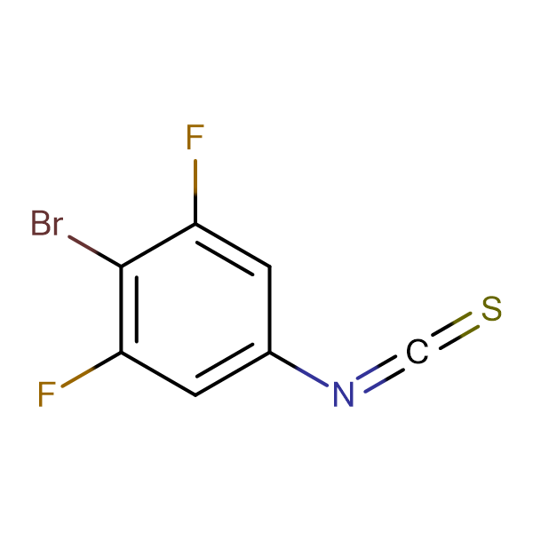 4-Bromo-3,5-difluorophenyl isothiocyanate