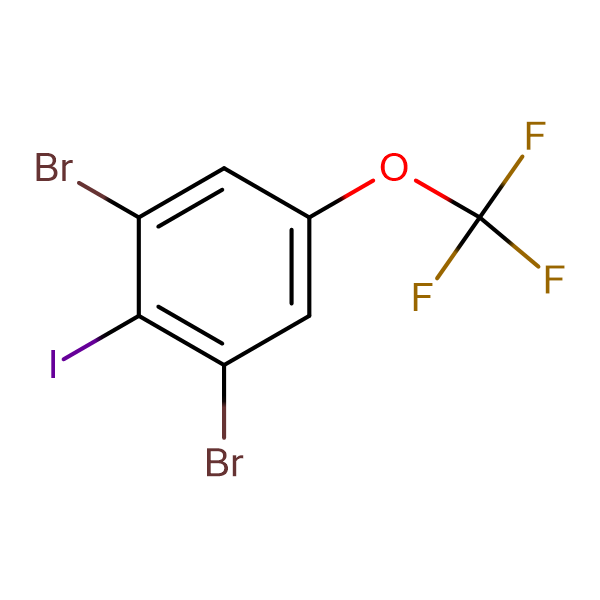 2,6-Dibromo-4-(trifluoromethoxy)iodobenzene