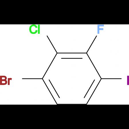 4-Bromo-3-chloro-2-fluoroiodobenzene