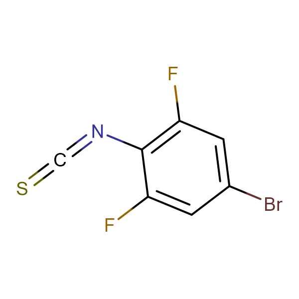 4-Bromo-2,6-difluorophenyl isothiocyanate