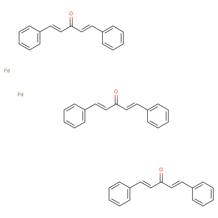 Tris(dibenzylideneacetone)dipalladium (0)