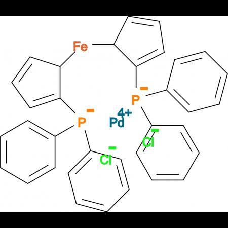 1,1'-Bis(diphenylphosphino)ferrocenepalladium (II) dichloride