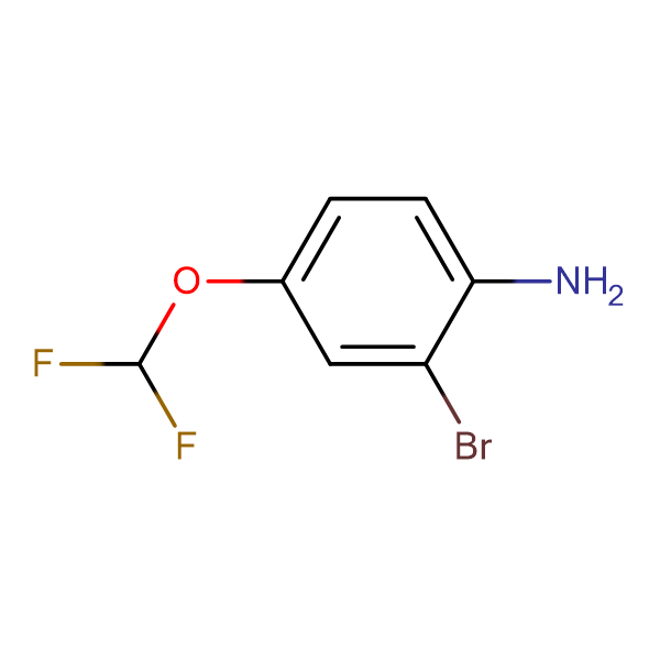 2-Bromo-4-(difluoromethoxy)aniline