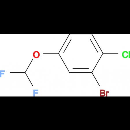 2-Bromo-1-chloro-4-(difluoromethoxy)benzene