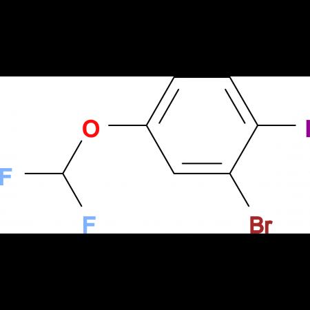 2-Bromo-4-difluoromethoxyiodobenzene