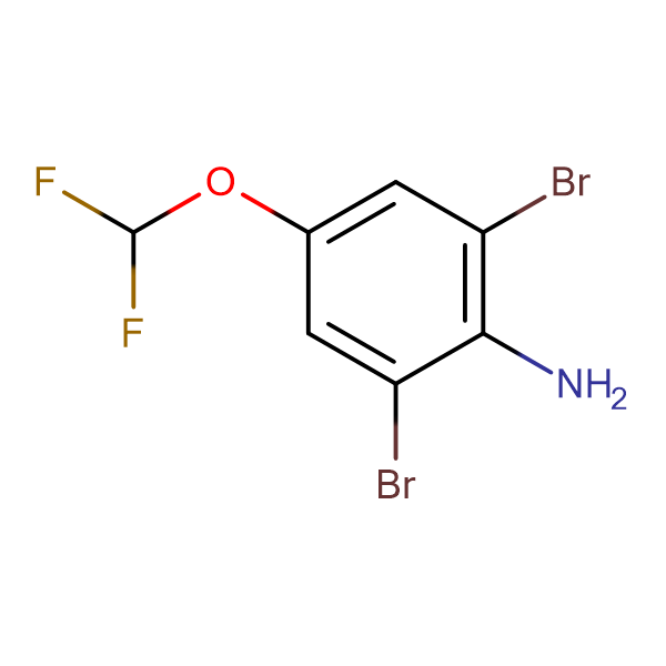 2,6-Dibromo-4-(difluoromethoxy)aniline